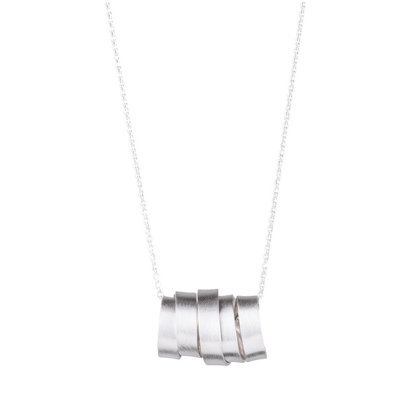NEW! Horizontal Wrapped Ribbon Pendant by Rina Young