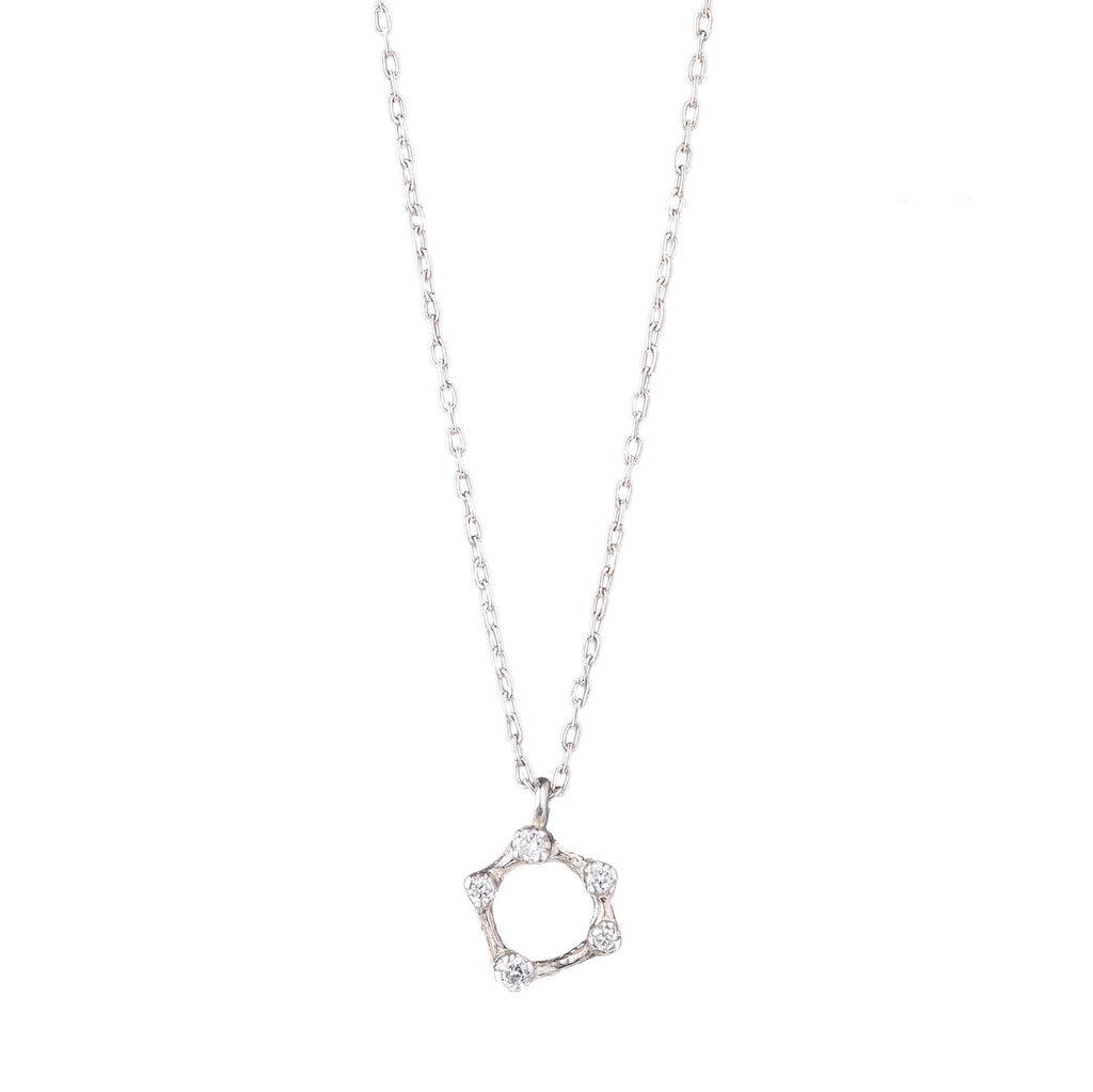 NEW! Diamond Circlet Necklace by N+A