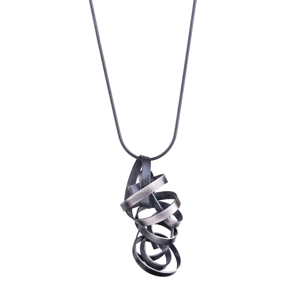 NEW! Wrapped Ribbon Pendant by Rina Young