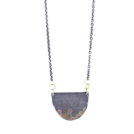 NEW! Gilded Half Moon Necklace by Sarah McGuire