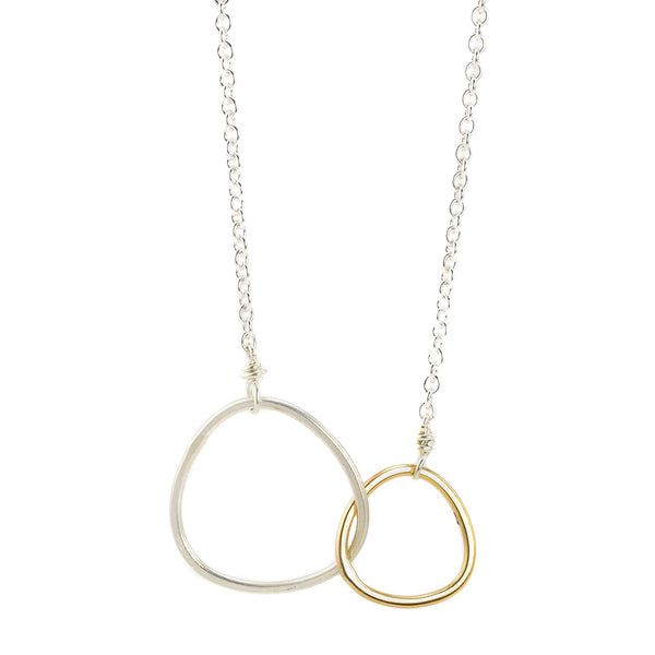 NEW! 2-loop Interlocking Necklace by Colleen Mauer Designs