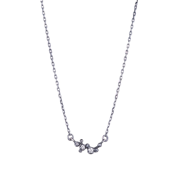 NEW! Three Bud Diamond Necklace by N+A