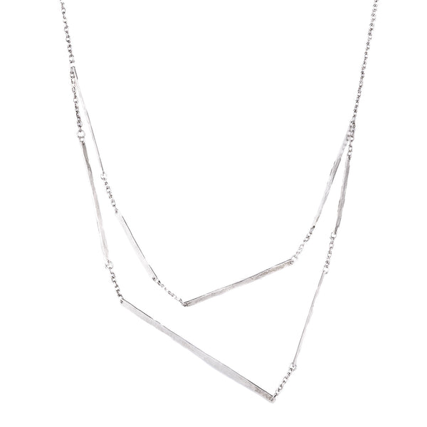 NEW! Double Chain Necklace by Sophie Hughes