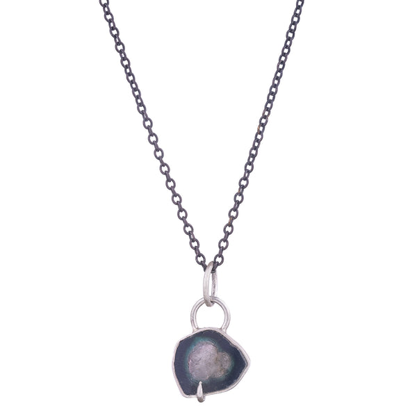 NEW! Frazil Indicolite Vanity Necklace by Hannah Blount