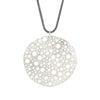 NEW! Sterling Silver Siv Circle Pendant by Dahlia Kanner