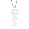 NEW! Sterling Silver 3 Drops Pendant by Dahlia Kanner