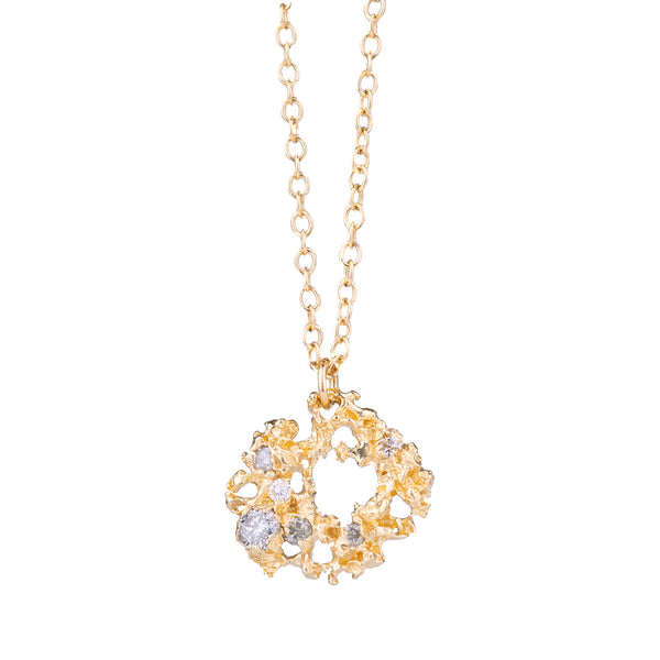 NEW! 14k Gold Nebula Necklace by Branch