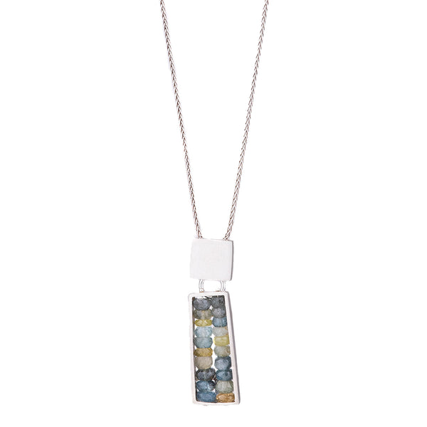 NEW! Top Square Bottom Rectangle Necklace by Ashka Dymel