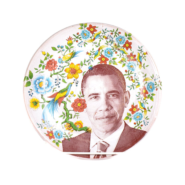 NEW! Barak Obama Plate by Justin Rothshank