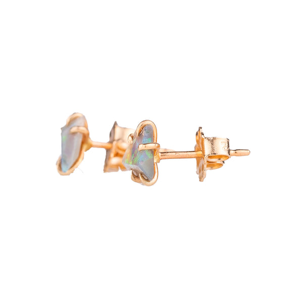 NEW! Small Australian Opal Earrings by Variance