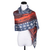 NEW! Small Cosmos Late Wool Scarf by Pilgrim Waters