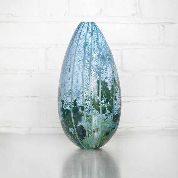 NEW! Carved Oval Vase by Studio Paran
