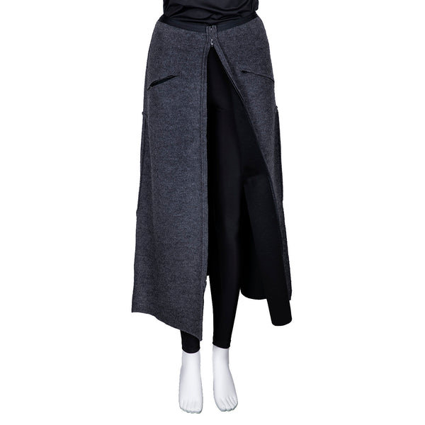 SALE! Overpant Zipper Skirt in Grey by Vilma Marė