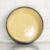 "NEW! Medium 8"" Bronze Cylinder Bowl in Parchment by Alice Goldsmith"