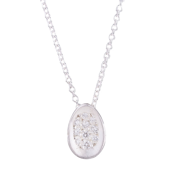 NEW! Pavé Egg Necklace by Branch