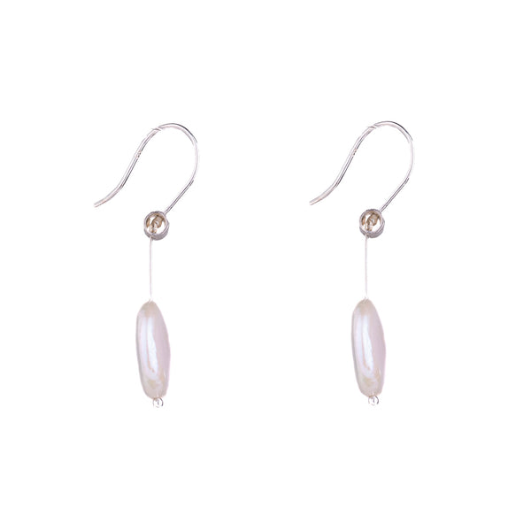 NEW! Pivot Pearl Coin Earrings by Serena Kojimoto