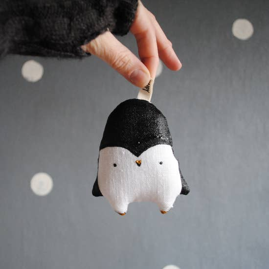 Penguin Christmas Ornament by Handy Happy