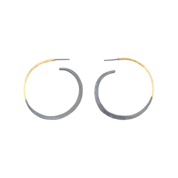 NEW! Small Classic Hoops by Leia Zumbro