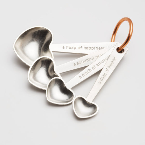 Quotes Measuring Spoons by Beehive