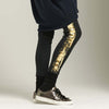 SALE! Phoebe Leggings in Khaki Gold by Veronique - Fire Opal - 1
