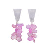 Pink Sapphire Earrings by Rina Young