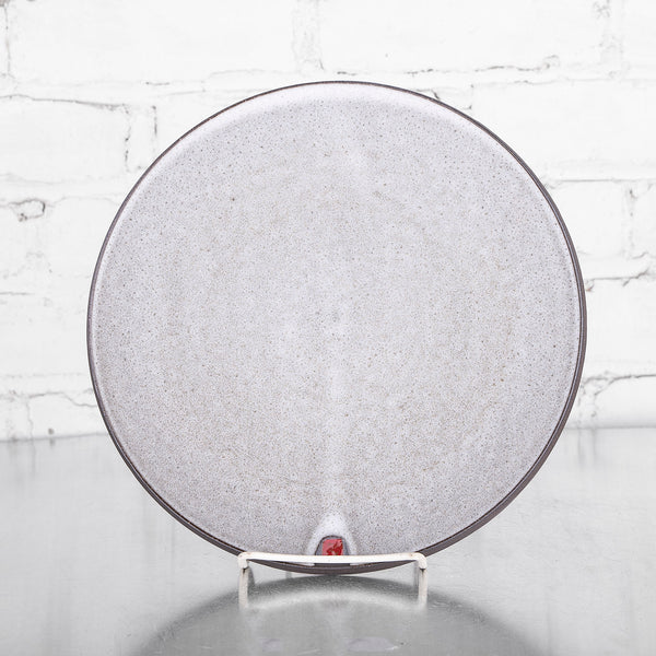 NEW! Round Grey Plates by Sang Joon Park