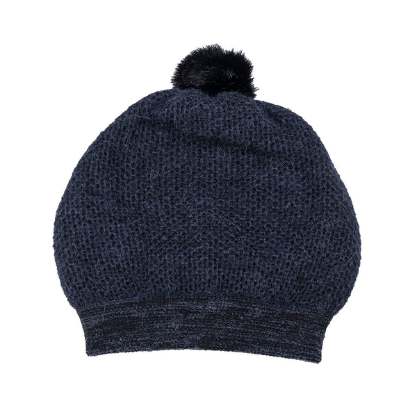 NEW! Lyra Pom Hat in Ebony by Olena Zylak