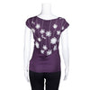 NEW! Purple PomPom T-Shirt by Umsteigen