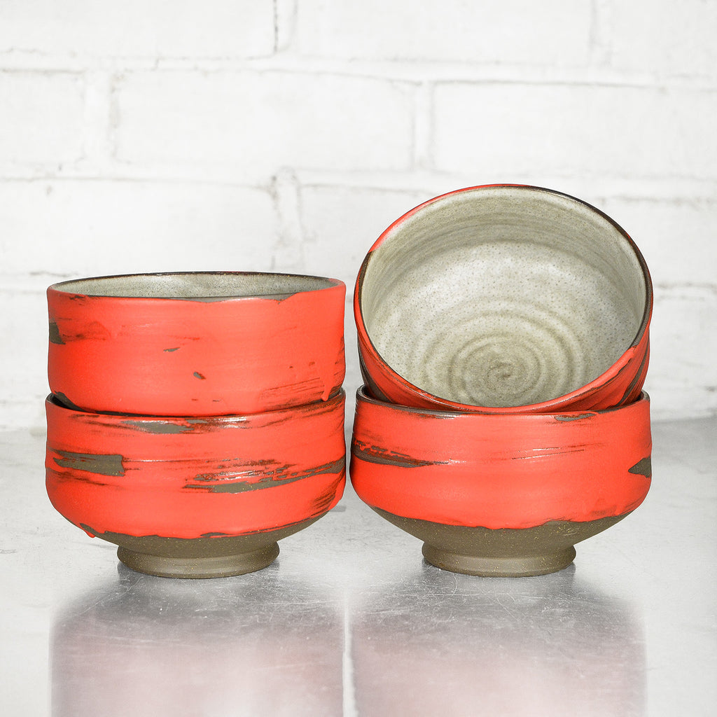 Red Bowls by Sang Joon Park