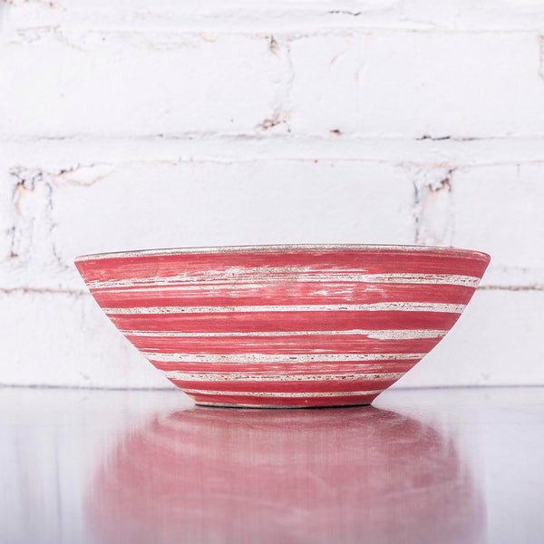 NEW! Red Bowl by SRS Ceramics
