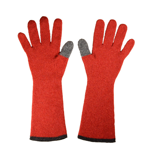 NEW! Long Gloves with Contrast Thumb (in Multiple Colors) by Katie Mawson