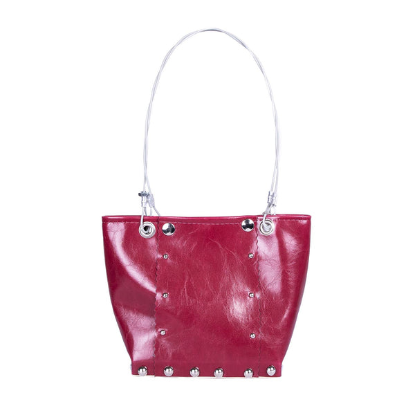 NEW! Small Runway Bag in Dark Red by Hardwear by Renee