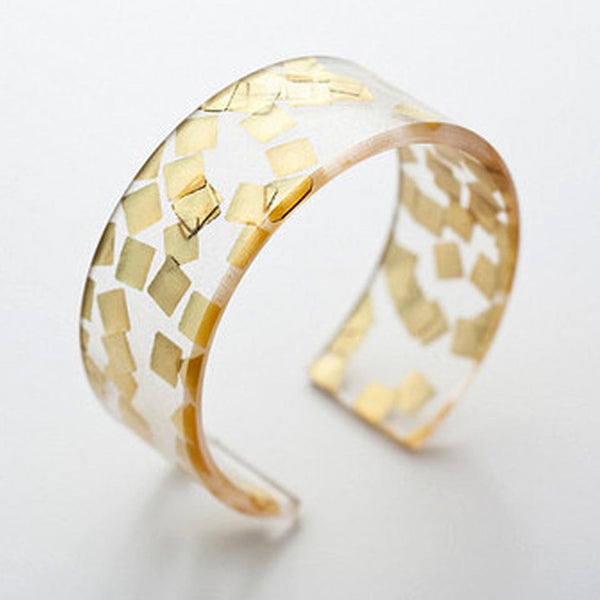 Narrow Cuff - Fire Opal - 2