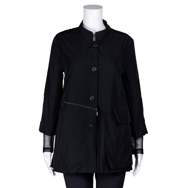NEW! Reporter Jacket in Black by Porto
