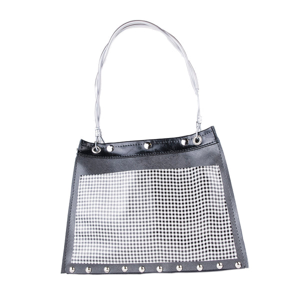 NEW! Riley Split Bag in Black/Checkered by Hardwear by Renee