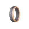 NEW! Oxidized Sterling Silver and Gold Band by Heather Guidero