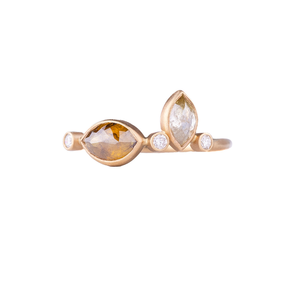 NEW! Falling Dew Drop Ring by Rebecca Overmann