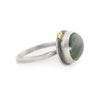 NEW! Smooth Tourmlinated Quartz Ring by Ananda Khalsa