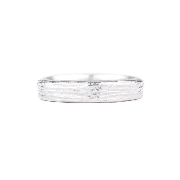 NEW! Sterling Silver Horizontal Dig Band by Dahlia Kanner