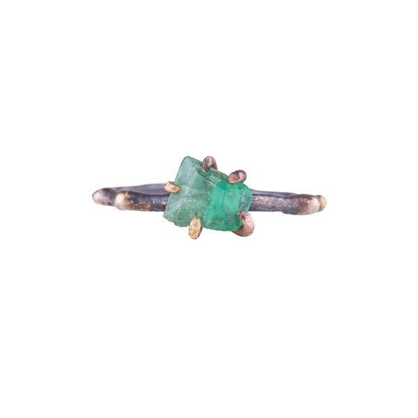 NEW! Small Emerald Ring by Variance Objects
