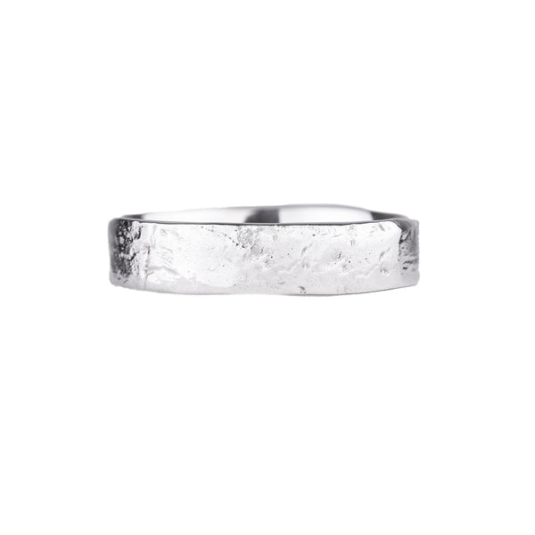 NEW! Wide River Rock Ring by Sarah Graham
