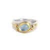 Oval Aquamarine Ring by Regina Imbsweiler