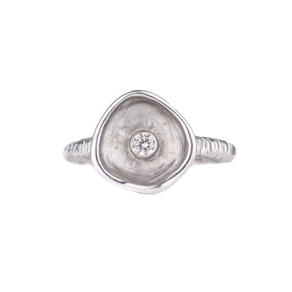 NEW! Confluence Ring in White Gold by Sarah Graham