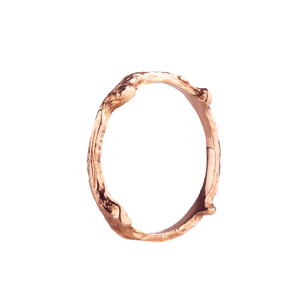 SALE! Hemp Ring in Rose Gold by Sarah Graham