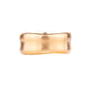 NEW! 14k Yellow Gold Wide Wavy Band by Matsu