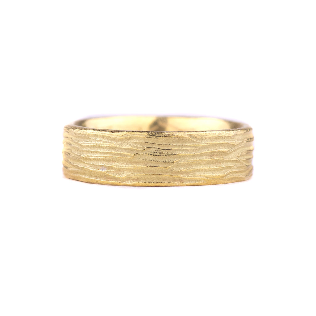 NEW! 18k Horizontal Dig Band by Dahlia Kanner
