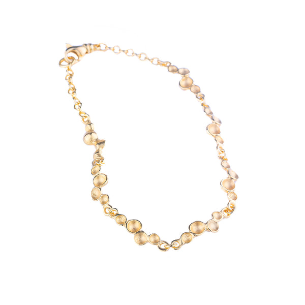 NEW! Ripple Bracelet in Gold Vermeil by Sarah Richardson