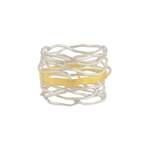 NEW! Rooted Ring by Beverly Tadeu