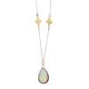 NEW! Rose Cut Opal Necklace by Ananda Khalsa
