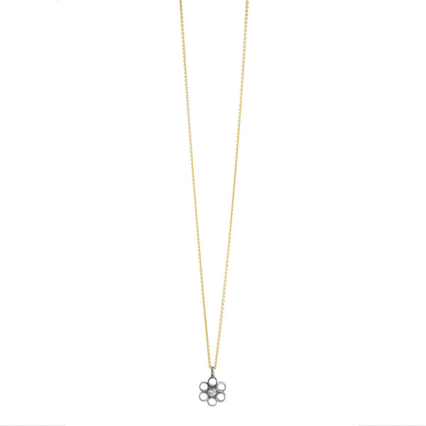 NEW! Rosette Pendant Necklace by Thea Izzi